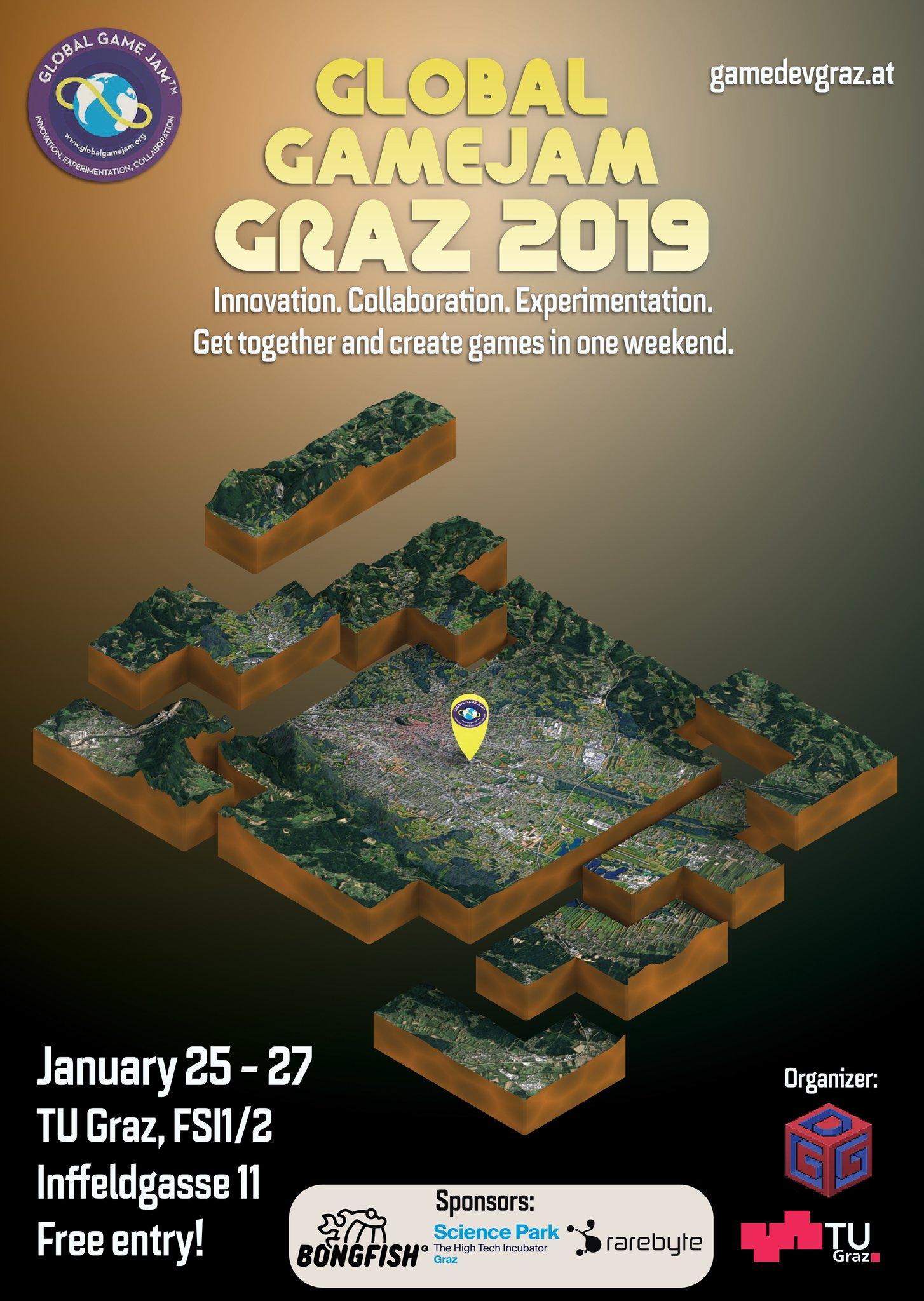 Global Game Jam 2019 – Game Development Graz
